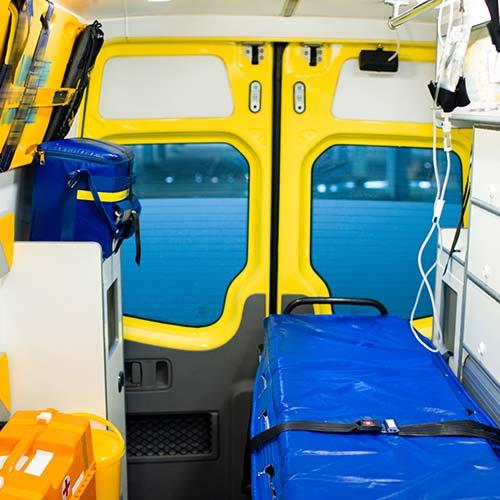 sanificazione antivirale ambulanze