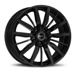 cerchione MAK barbury modello gloss black