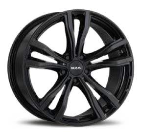 cerchione x mode gloss black cerchione auto