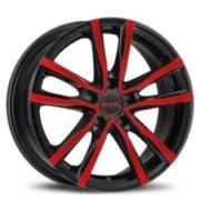 cerchione MAK milano-5 modello black & red