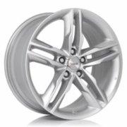 Cerchione Avus AF6 modello Hyper Silver